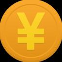 Coin yuan icon