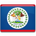 belize, flag, country icon