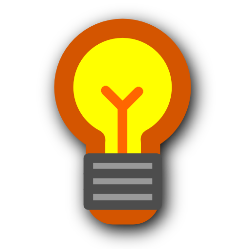 Light Energy Hint Bulb Tip Icon