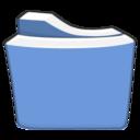light,blue,folder icon