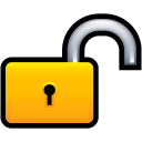security, lock, locked, unlock icon