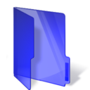 dark,blue,folder icon