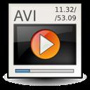 avi, msvideo, video icon