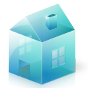 building, house, home, homepage icon