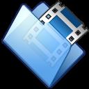 film, video, folder, movie icon