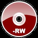 rw, dvd, disc, hd icon