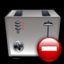 Remove, Toaster icon