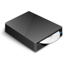 dvd, save, drive, cd, disk, disc icon