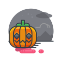 holiday, spooky, halloween, scary, decoration, pumpkin icon