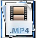 clip, mpeg4, mp4, file, movie icon