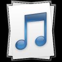 paper, music, document, file icon