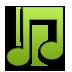 Green, Music icon