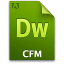 Cfm, Doc, Document, File icon