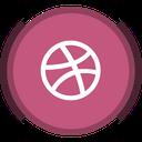 social, dribbble, design, web design icon