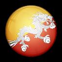 Bhutan, Flag, Of icon