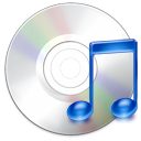 music, disk, disc, cdaudio, unmount, itunes, cd, save icon
