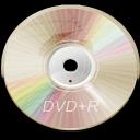 Hardware DVD plus R icon