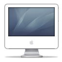iMac G5 Graphite PNG icon
