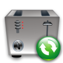Refresh, Toaster icon