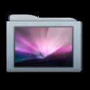Folder Graphite Wallpapers icon