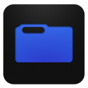 Blueberry, Folder icon