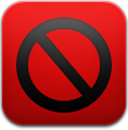 Adblock, Dark icon