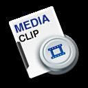 media,cilp icon