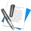 file, textedit, document, text, writing, write, edit icon
