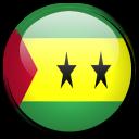 principe, sao, country, tome, and, flag icon