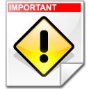 Filesystem file important icon