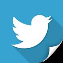 button, twit, communication, twitter, blue icon