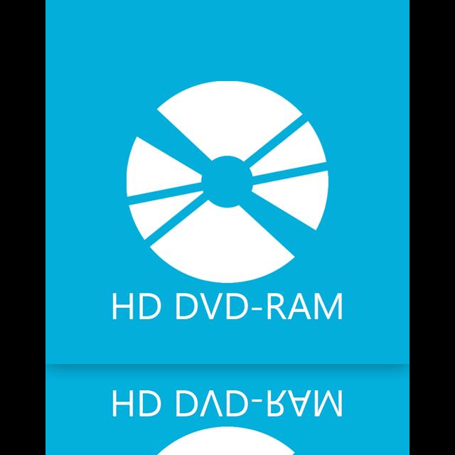 dvd, hd, ram, mirror icon