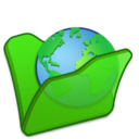 folder,green,internet icon