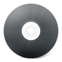 CD noir icon