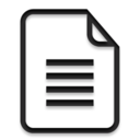 file,paper,document icon