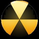 burn,nuclear icon