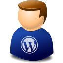 texto, User, Web, Wordpress icon