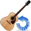 guitar,reload,instrument icon