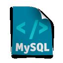 page, mysql icon