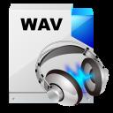 filetype wav sound icon