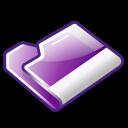 folder,violet icon