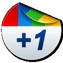plus one, +1, google plus, google+ icon
