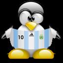 argentina, penguin, animal icon