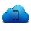 Cloud, Device, Mobile icon