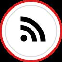 brand, rss, logo, media, social icon