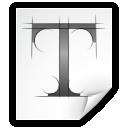 font, otf icon