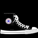 converse,black icon