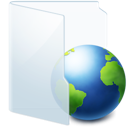 folder, online, internet, web icon