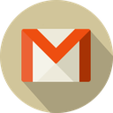 circle, logo, material, email, mail, gmail icon