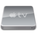 tv, apple, television icon
